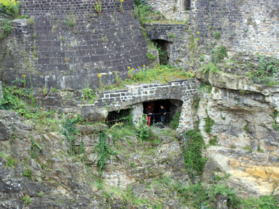 UNESCO Weltkulturerbe: die Befestigungsanlage in Luxemburg