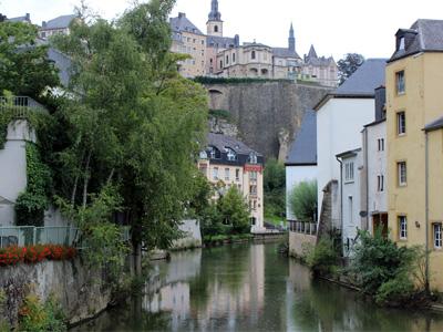 Die malerische Altstadt an der Alzette