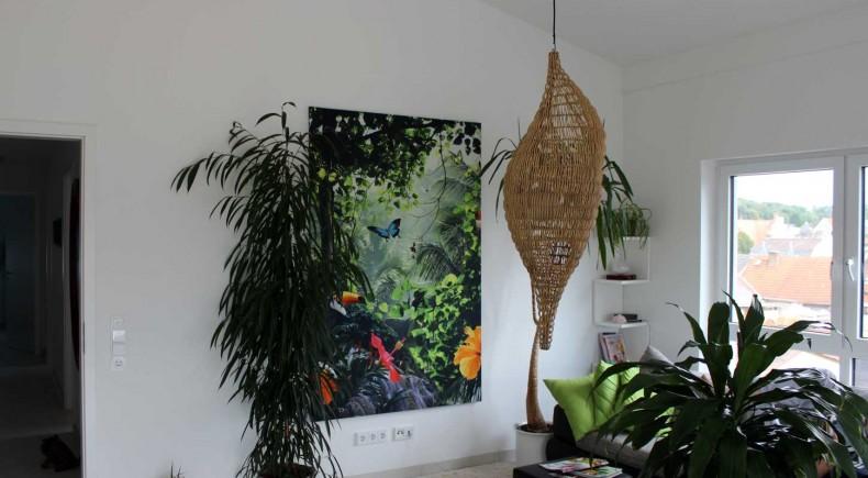 Wanddekoration im Wohnzimmer