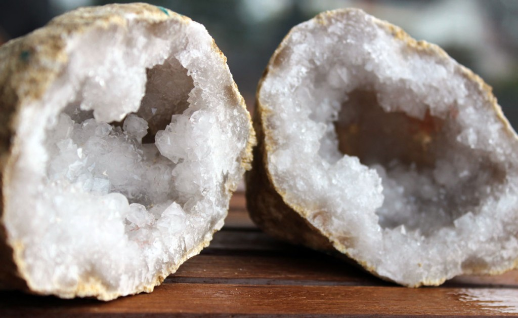 Bergkristall Druse